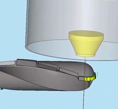 ESPRIT CAM & FANUC para atender Eletroerosão a Fio 3D c/ 5º e 6º eixo