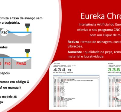 Eureka Chronos – Otimização de programa CNC em código ISO