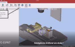 NOVO ESPRIT CAM – Setup máquina HAAS de 3 eixos com opcional do 4º eixo
