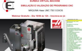 Webinar – Simulação e Validação de programa CNC com o Eureka